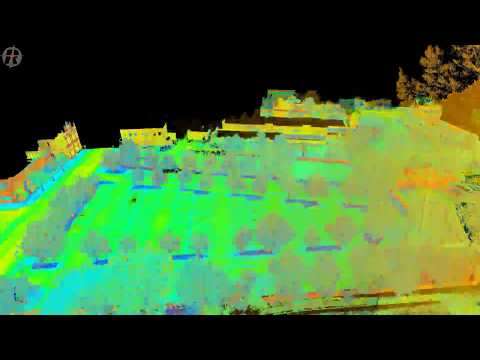 Port Doc Railway Project - Laser Scan Survey of Carpark and Road Network