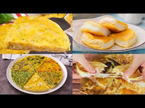 4 Original recipes to enjoy eggs