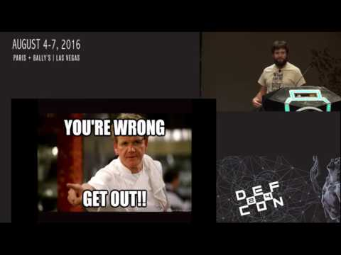 DEF CON 24 - Jmaxxz - Backdooring the Frontdoor
