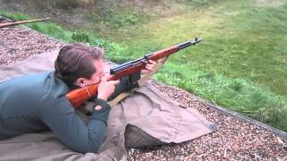 shooting Historical weapons - SVT40, K98k, Mosin N