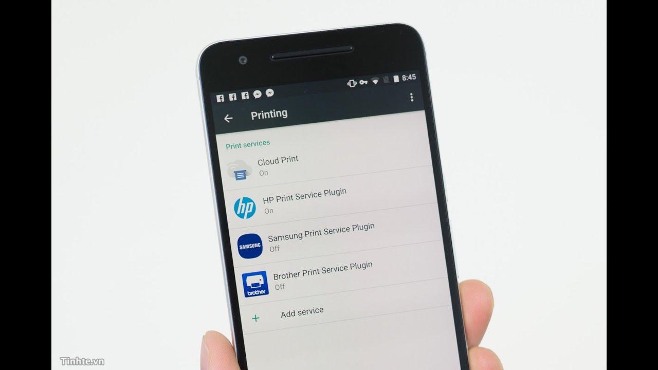 Android, iOS, WinMo] Những điều cần biết về in ấn từ di động