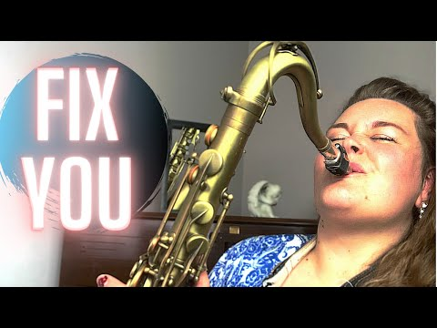 FIX YOU (Saxophone Cover) Saxophone Music By Marshali Scott
