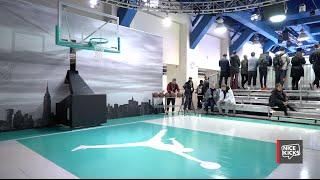 Inside the Jordan All-Star Consumer Space at Penn Pavilion