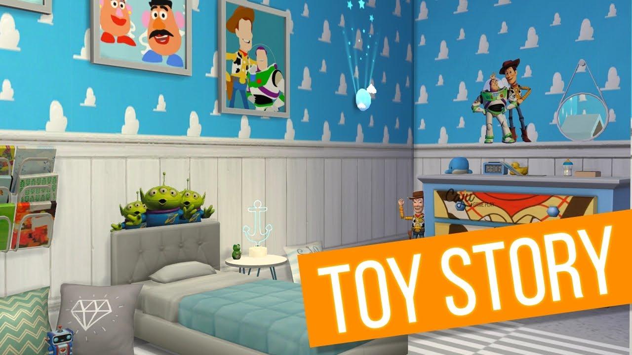 Quarto Toy Story ~ DECORANDO O QUARTO DO SAMUEL The Sims 4 ud83d udc7e Vida Geek #63 YouTube