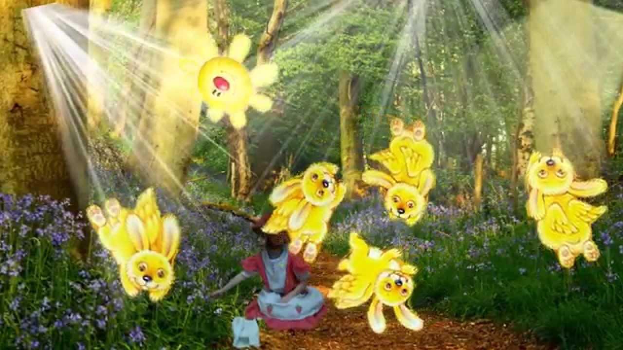 картинка солнечные зайчики