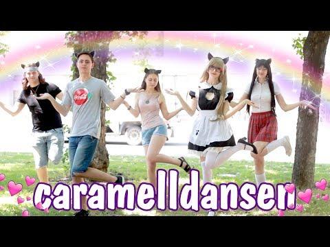 KAWAII DANCE 💖 Caramelldansen Dance Cover / Cosplay video / Cute Anime dance IN REAL LIFE
