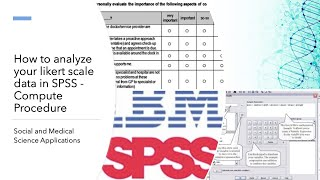 How to analyze your likert scale data in SPSS - Compute Procedure