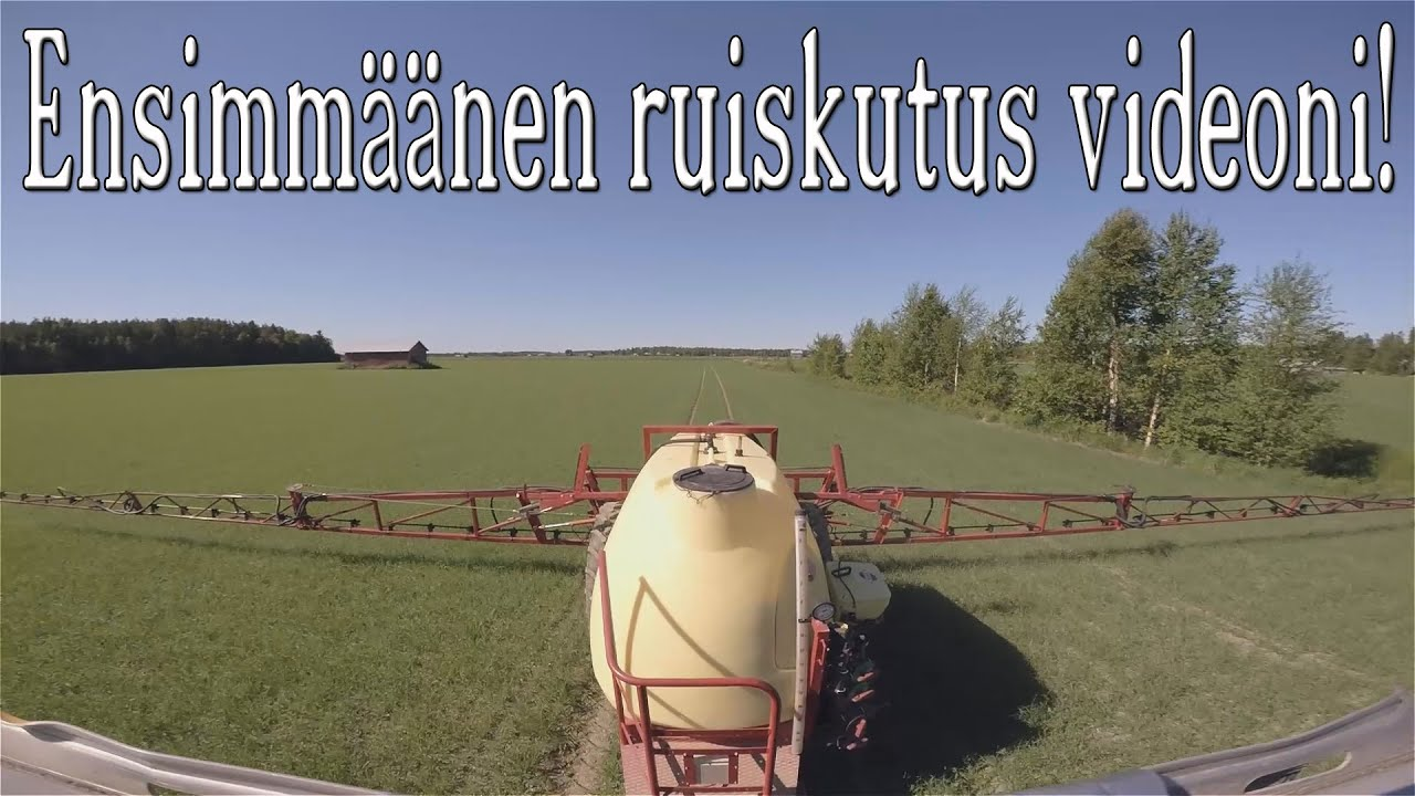 Ruiskuttaminen musta video