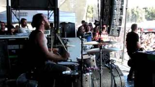 Against Me!-'Walking Is Still Honest'-live  Warped Tour(ON STAGE!!!)