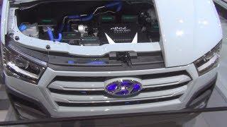 Hyundai H350 Fuel Cell Concept Exterior and Interior