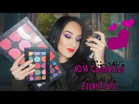 AOM Cosmetics (Artist of Makeup ) Essentials | Paint My Face