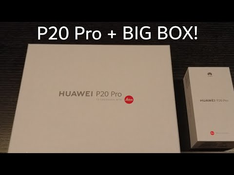 Unboxing : Huawei P20 Pro.      #p20pro  #unboxing #HuaweiMWC #mwc #ces #laica #Huawei #p30pro
