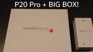 Unboxing : Huawei P20 Pro.      #p20pro