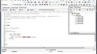 PHP & MySQL   Урок 6 Switch/case  (Разработка wap/web приложений)