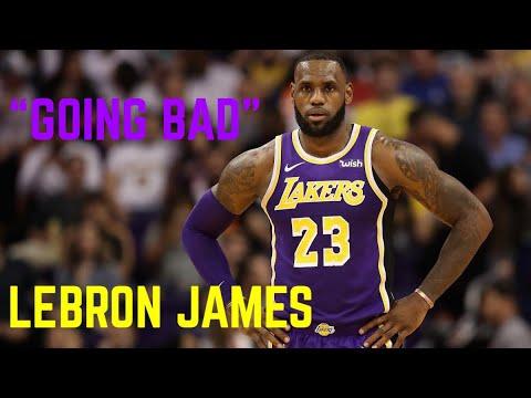 """LeBron James 18-19 Mixtape """"Going Bad"""" Ft Drake HD image"""