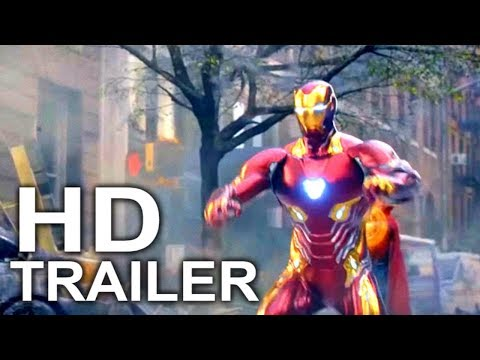 AVENGERS INFINITY WAR New York Battle Trailer (2018) Marvel Superhero Movie HD