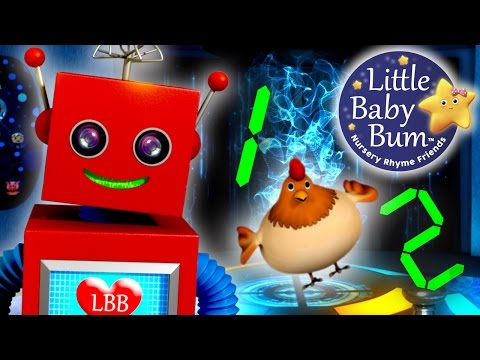 One Two Buckle My Shoe | Nursery Rhymes | By LittleBabyBum!