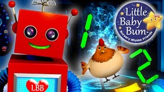 One Two Buckle My Shoe | Nursery Rhyme with Lyrics | 3D Animation in HD from LittleBabyBum