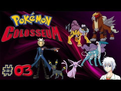 Let's Play Pokémon Colosseum [German] #03 - Das erste Crypto Pokémon!