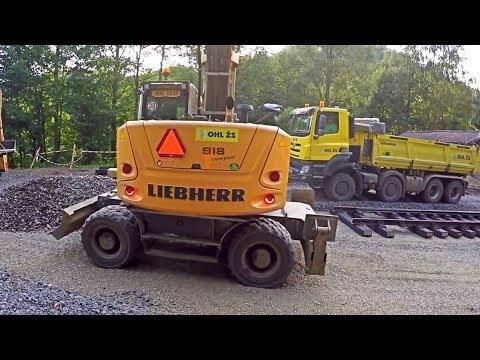 Prepare of stone level - Day in work XXVI (GoPro)