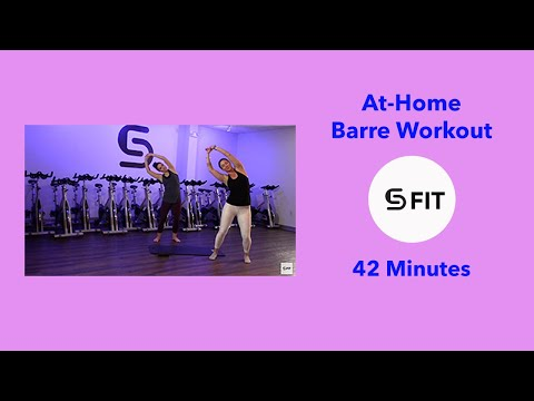 S5 FIT: At-Home Barre Workout