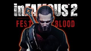 Infamous Festival of Blood all cutscenes HD GAME