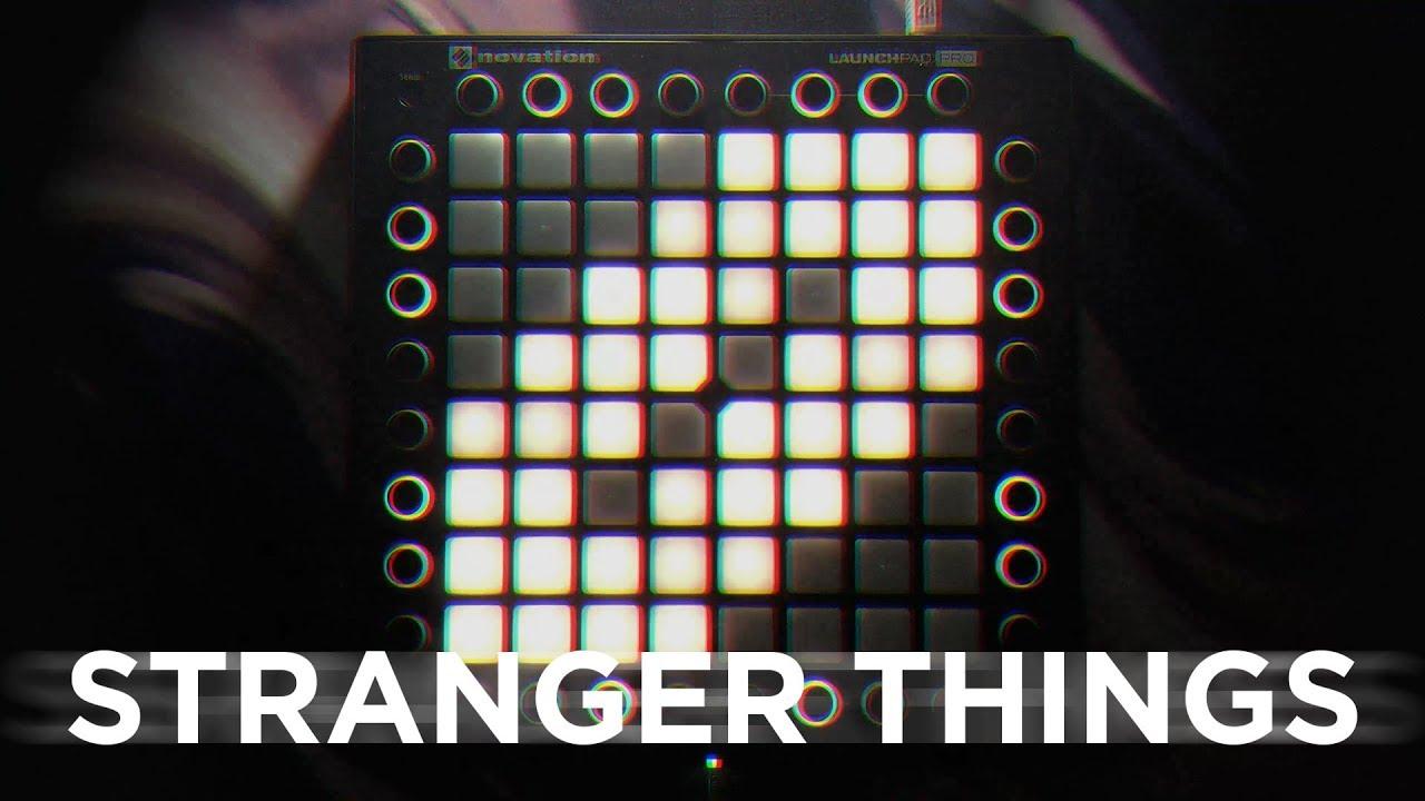 Stranger Things (2 Below Remix) // Launchpad Pro Lightshow