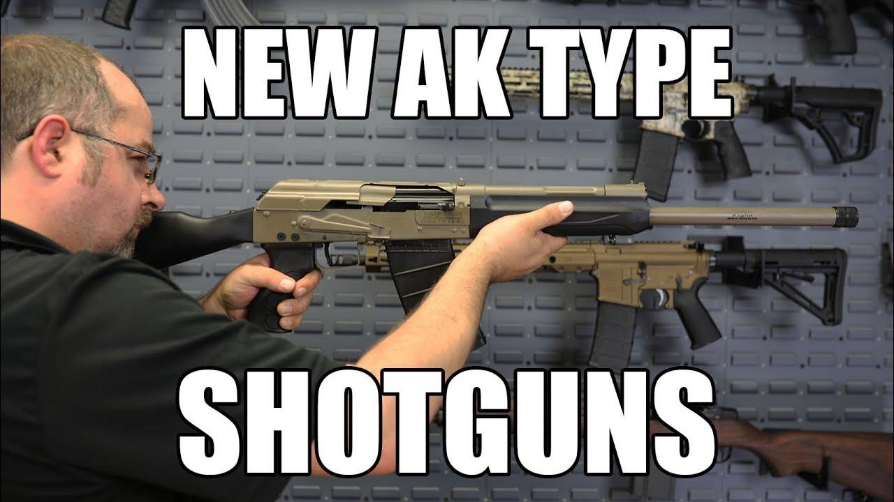New Turkish Saiga & Bullpup Shotguns