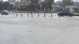Princes Highway flooding