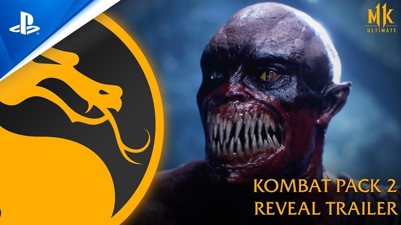 Download Mortal Kombat 11 Ultimate Kombat Pack 2 Reveal Trailer PS4, PS5