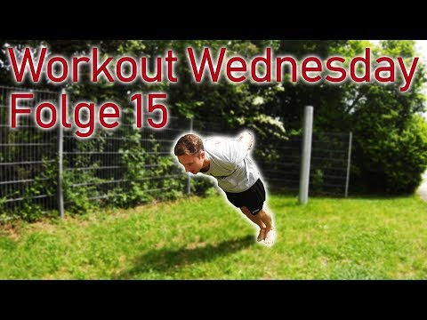 Workout Wednesday Folge 15 - Sprungkraft, Liegestütze, Core-Training, Übungen am Reck, Ringe & Co.