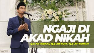 Download Lagu TILAWAH WEDDING    BEKAL NIKAH - Muzammil Hasballah mp3