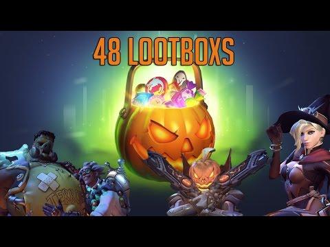 Opening 48 New Halloween loot Crates!!+New Update