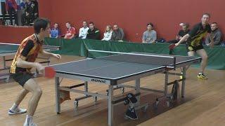 Илья ШАМИН vs Роман БОРТНИКОВ, Турнир Master Open, Настольный теннис, Table Tennis