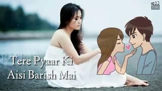 Tere Pyaar Ki Aisi Barish Main | Sonu Kakkar | Female | Romantic WhatsApp Status Video | RV Edits