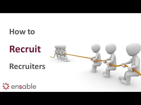 Recruiting Recruiters - How to Uncover Sales Opportunities Through Recruiters