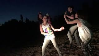 Танцы на пляже под песню LittleBig!!!
