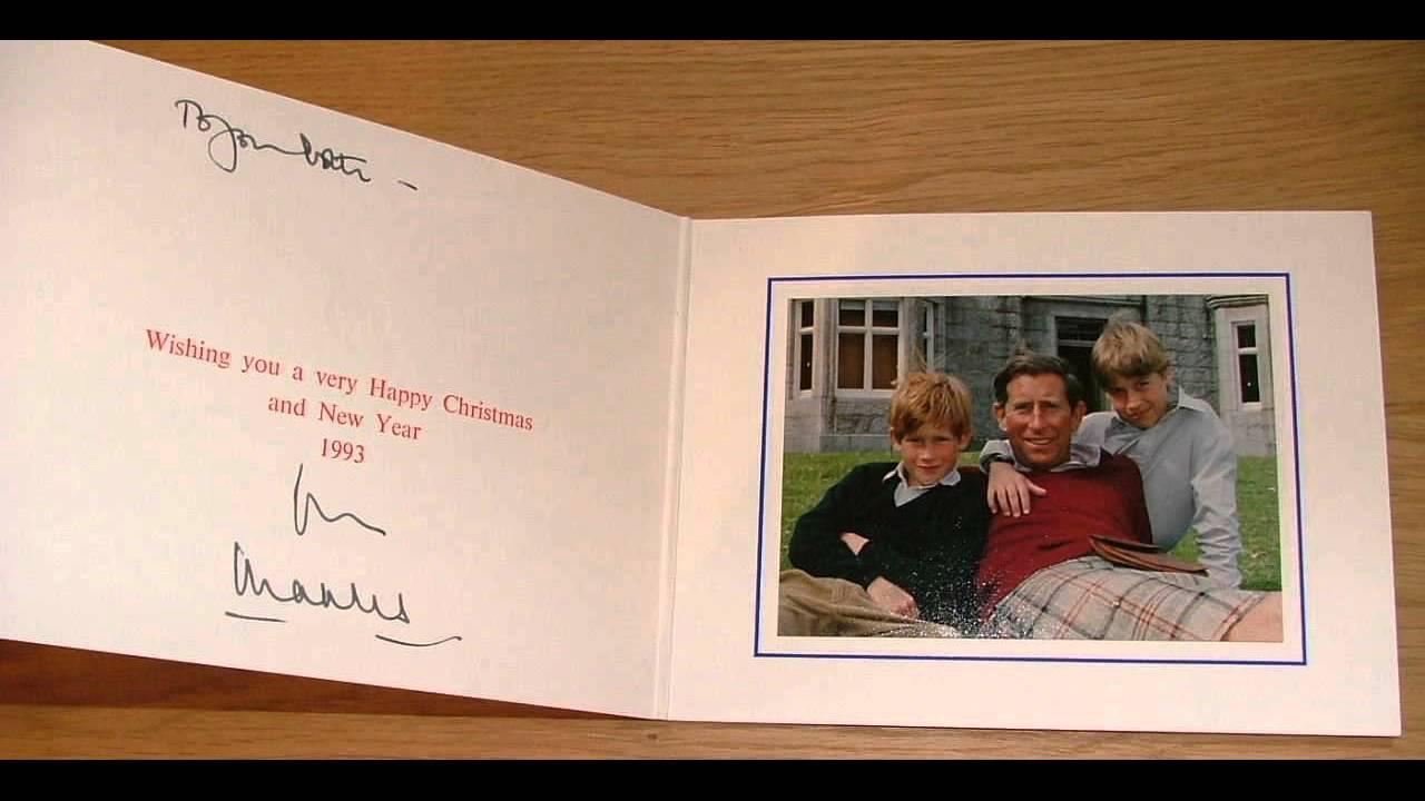 Royal Christmas Cards YouTube