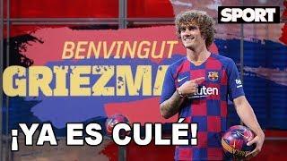 PRESENTACIÓN DE ANTOINE GRIEZMANN COMO NUEVO JUGADOR DEL FC BARCELONA 🔵🔴🇲🇫