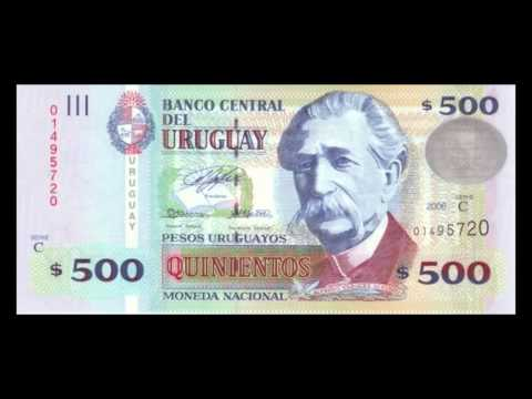 All Uruguayan Peso Banknotes - 2003 to 2014 Issues