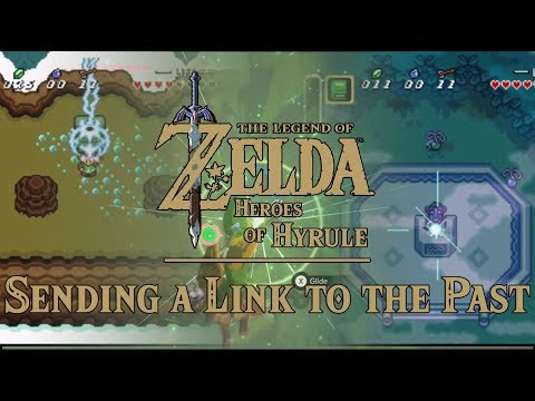 Spinoff 1st: Sending a Link to the Past! aLttP Link in Heroes of Hyrule within Zelda BotW & aLttP