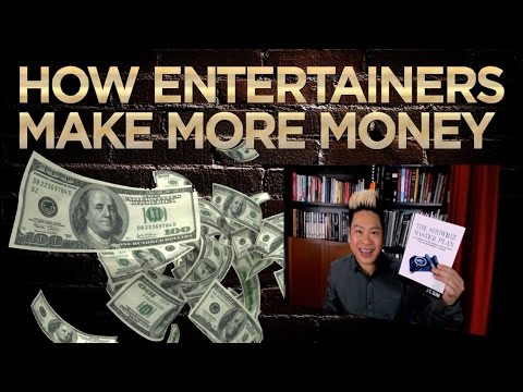 Book More Shows that Pay More with The Showbiz Master Plan