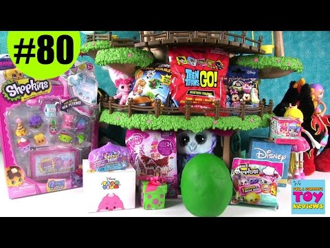 Thumbnail: Blind Bag Treehouse #80 Unboxing | Squinkies Play Doh Gift Ems Shopkins | PSToyReviews