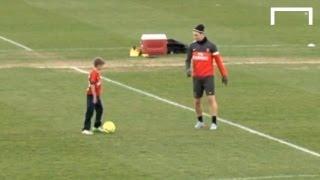 Beckham's sons vs Ibrahimović and Thiago Silva