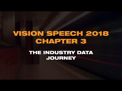 VISION 2018 Chapter 3: The Industry Data Journey