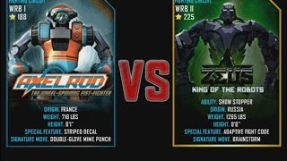 Real Steel WRB Axelrod VS Zeus (champion) NEW Update