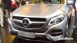 2016 Mercedes Benz GLE Class GLE 63 AMG Coupe & GLE 450 Coupe 2015 Detroit Auto Show