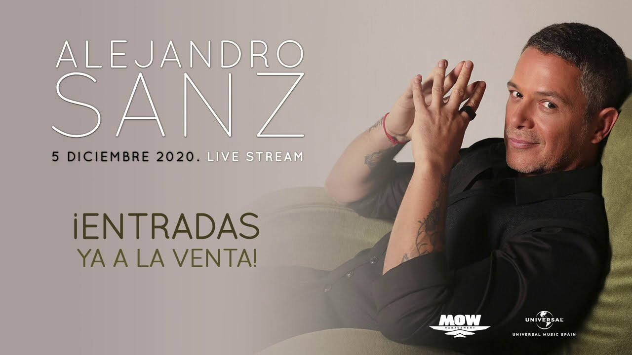 Alejandro Sanz - #LiveStreamASanz