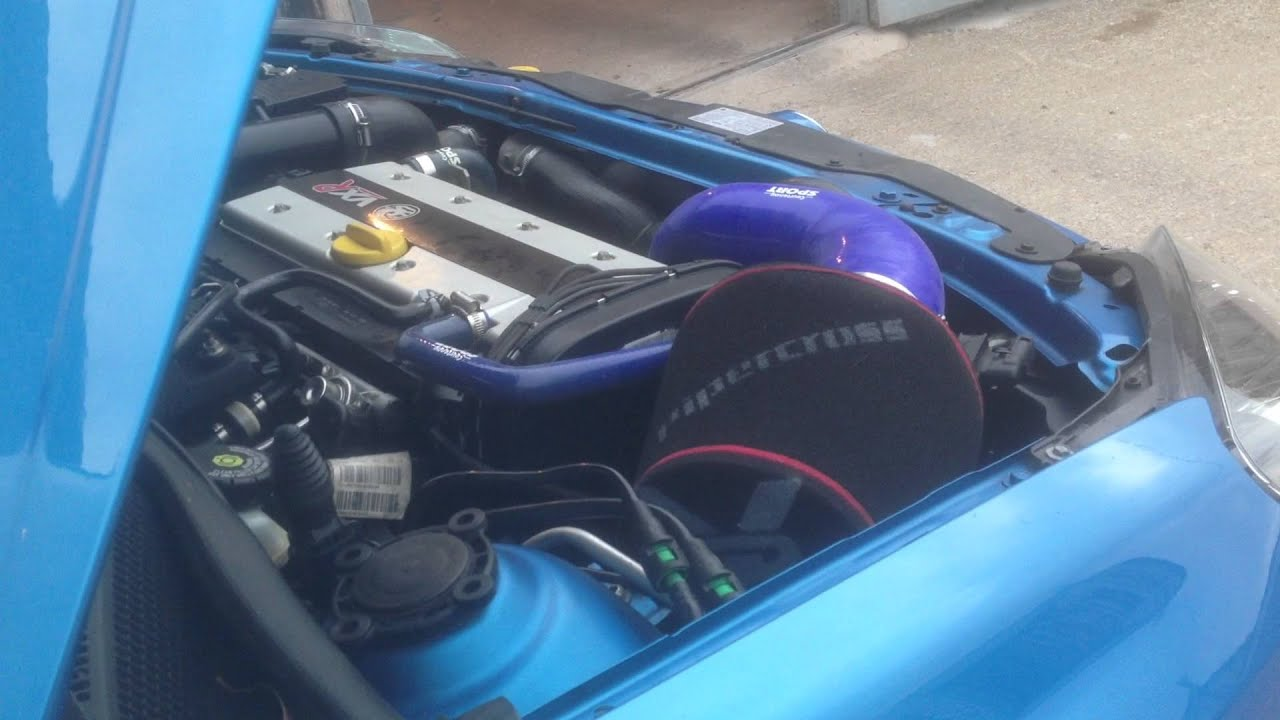 astra vxr pipercross open cone air filter with uprated re