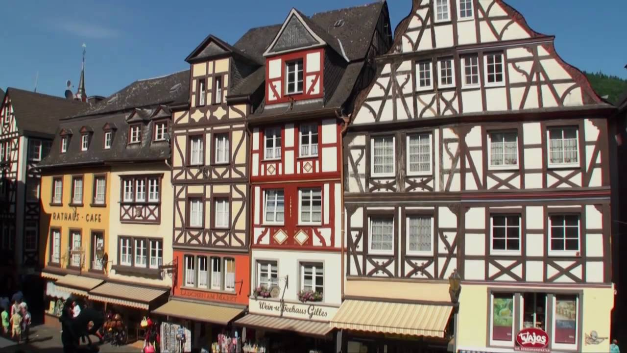 Stadt cochem an der mosel deutschland wein kultur - Cochem alemania ...